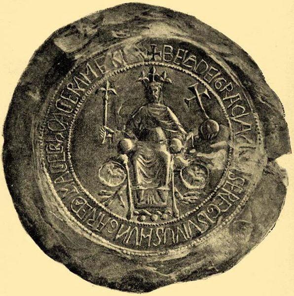 Pieczęć króla Węgier (i Halicza) Beli III.