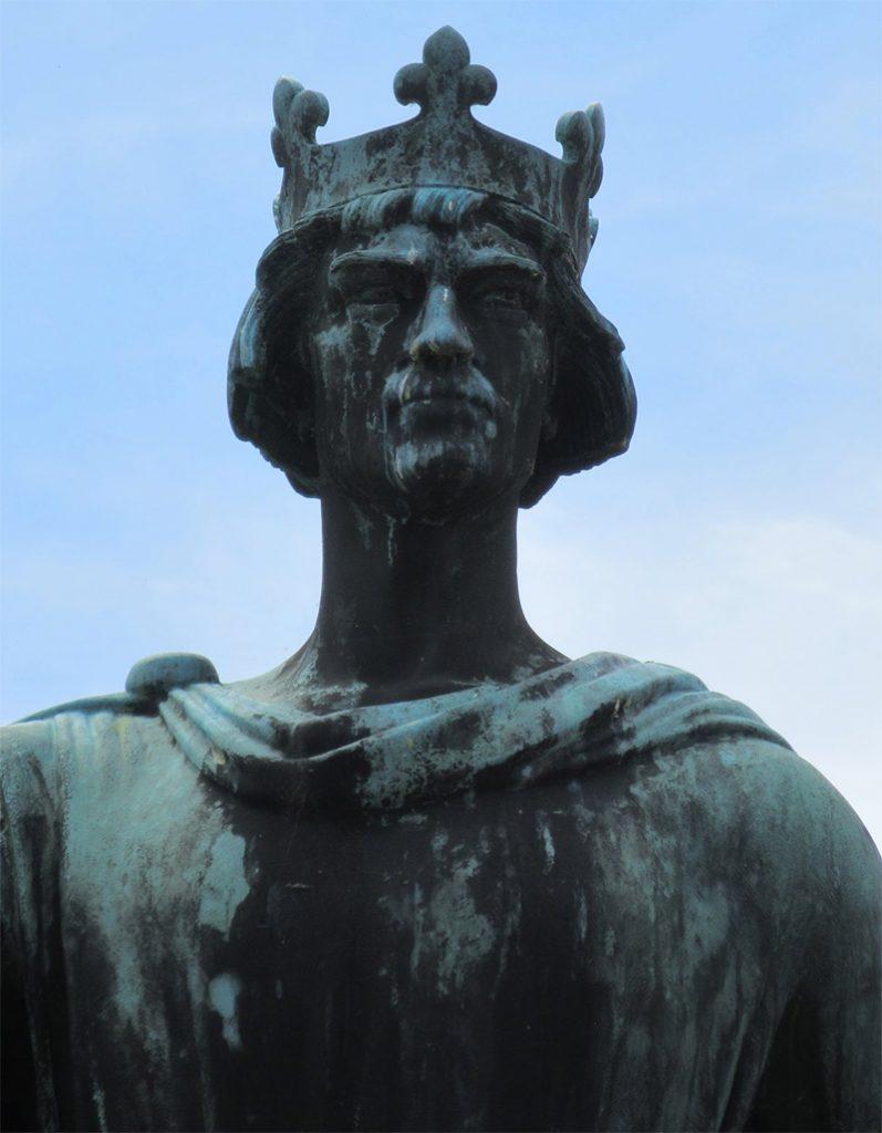 Posąg króla Danii Waldemara I Wielkiego