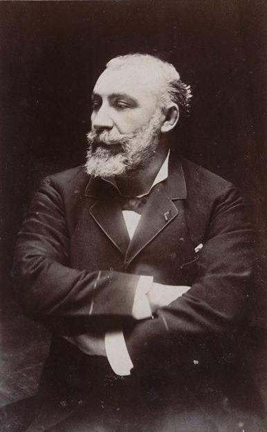 Rodolphe Julian. Fotografia portretowa.