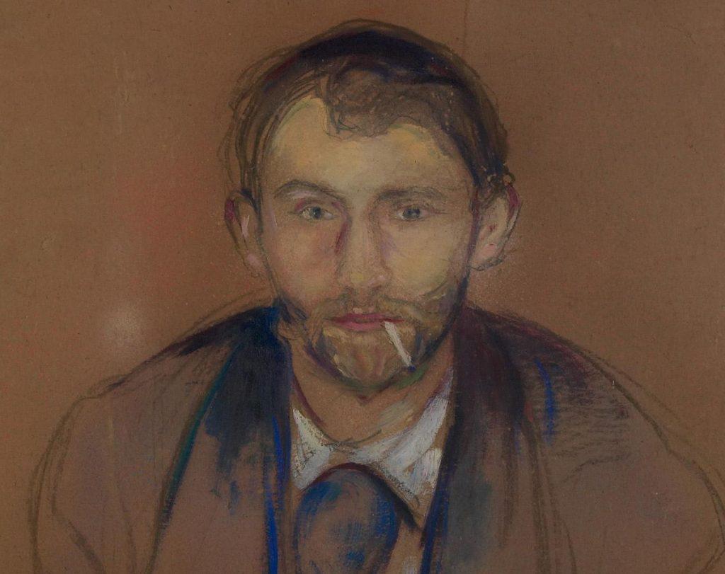 Stanisław Przybyszewski na obrazie Edvarda Muncha.
