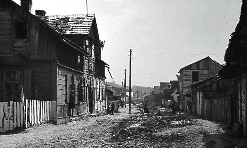 Getto w Izbicy. Fotografia z lat 1941-1943