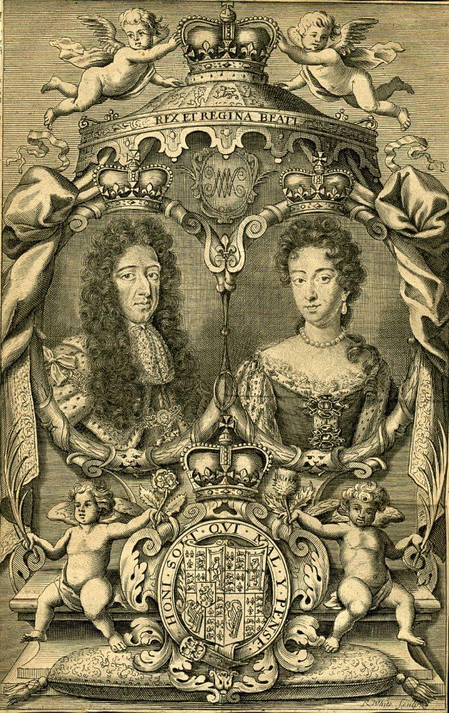 Maria Stuart i jej mąż Wilhelm Orański (domena publiczna).