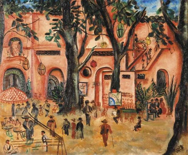 Obraz Ireny Reno Niedziela w parku