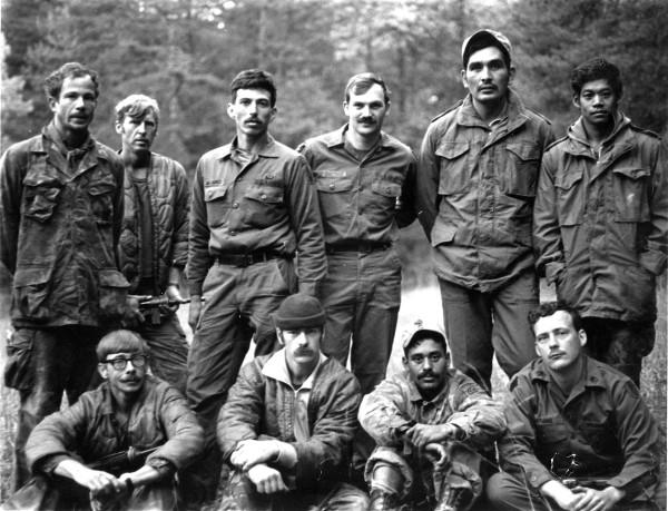 Operatorzy Delta Force na zdjęciu z 1978 roku (domena publiczna).