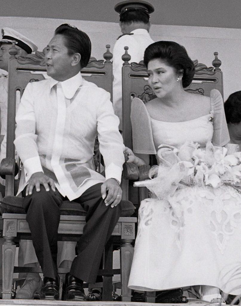 Państwo Marcos na zdjęciu wykonanym w 1979 roku (Al Ramones i Domie Quiazon/domena publiczna).