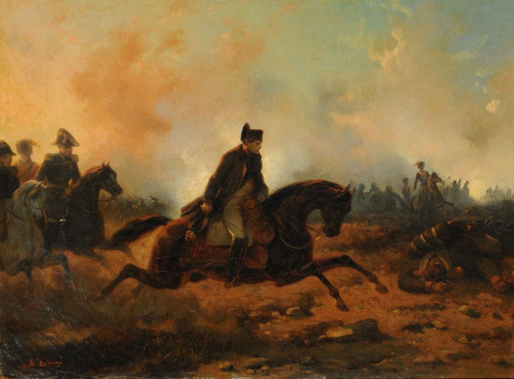 Po zwycięstwie pod Waterloo Prusacy chcieli postawić Napoleona przed plutonem egzekucyjnym (Hippolyte Bellangé/domena publiczna).