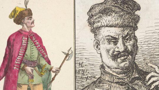 Polscy szlachcice. Grafiki XIX-wieczne.