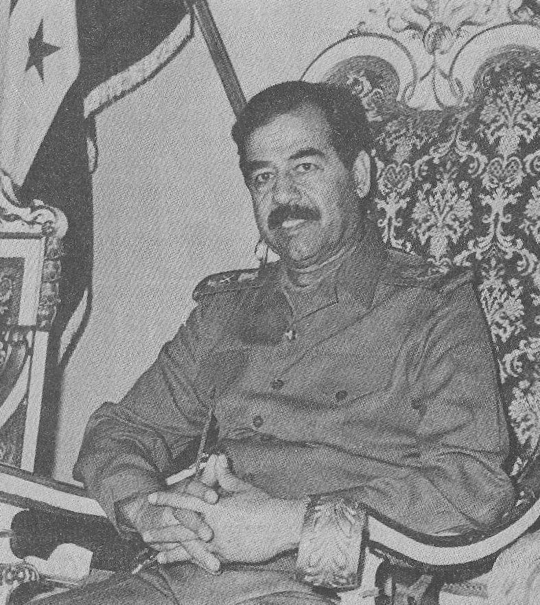 W końcu nawet Saddam miał dosyć ekscesów syna (domena publiczna),