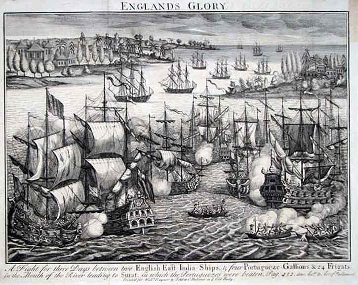 XVII-wieczne wyobrażenie bitwy Suvali (domena publiczna).
