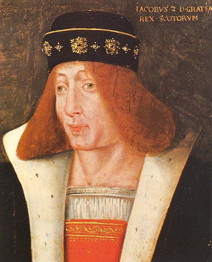 XVII-wieczny portret Jakuba II Stuarta (domena publiczna).