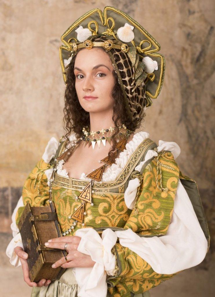 Anna Knybel jako Bona Sforza. Stylizacja i fotografia