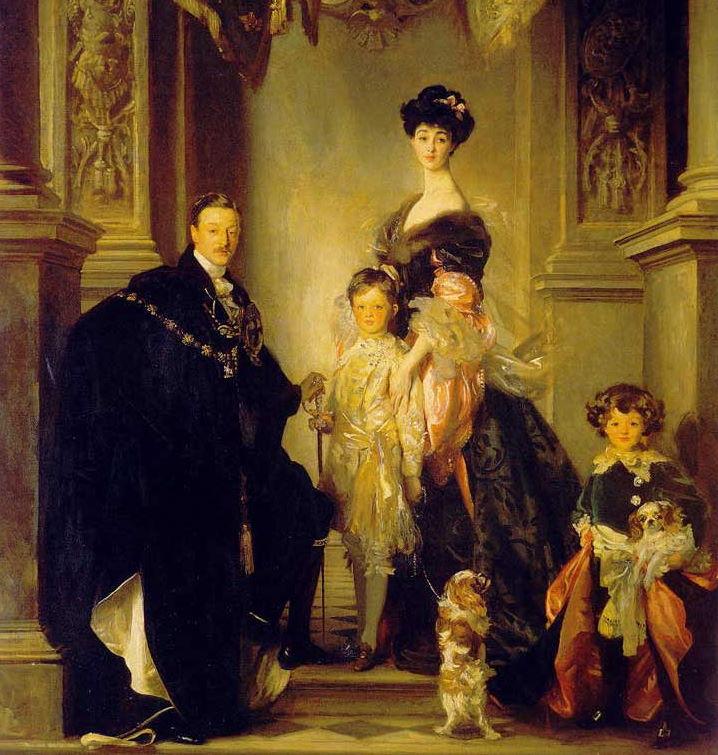 Charles, 9. książę Marlborough na obrazie z początku XX wieku.