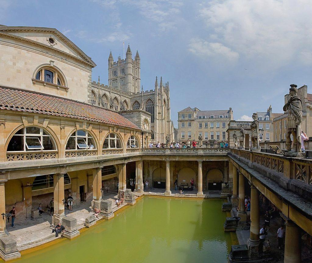 Część rzymskich łaźni zachowanych w Bath (Diliff/CC BY 2.5).