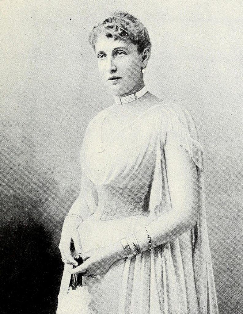 Księżna Monako Alice. Fotografia z 1910 roku.