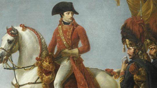 Napoleon po bitwie pod Marengo w 1800 roku. Obraz Antoine-Jeana Grosa.