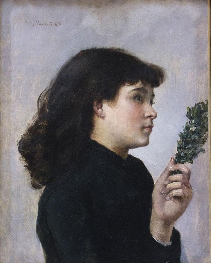 Niedziela Palmowa, to jedyny zachowany obraz Victorine Meurent (domena publiczna).
