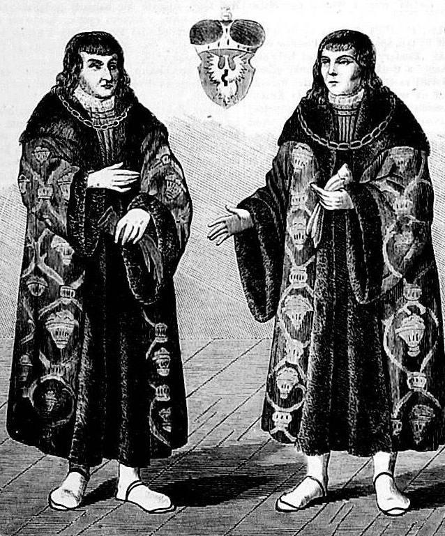 Ostatni książęta mazowieccy Janusz (po lewej) i Stanisław (domena publiczna).