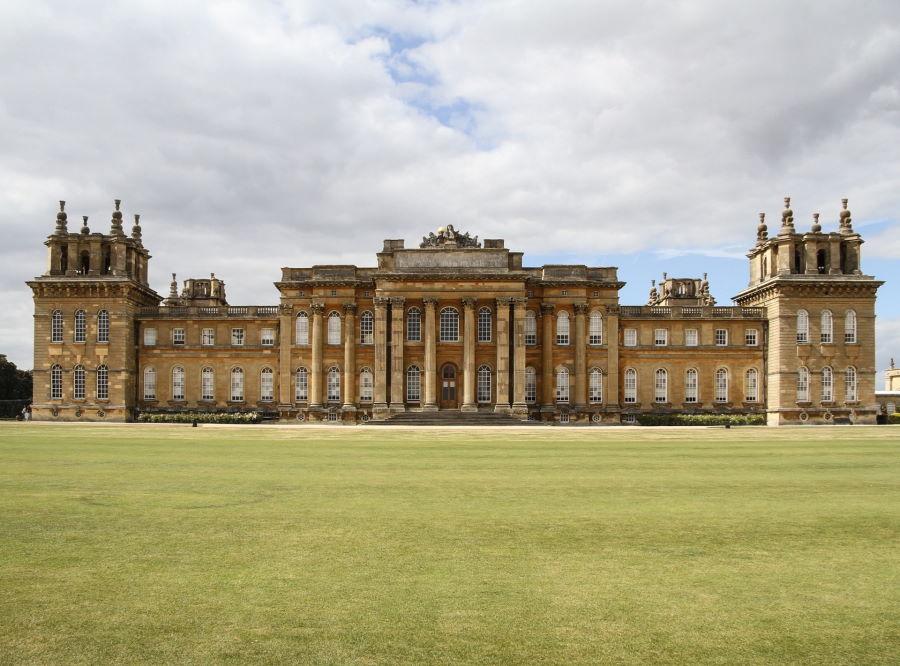 Pałac Blobnheim stanowiący rezydencję książąt Marlborough