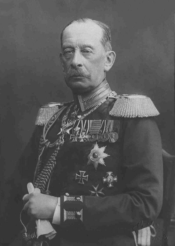Autor planu wojny z Francją Alfred hrabia von Schlieffen (domena publiczna).