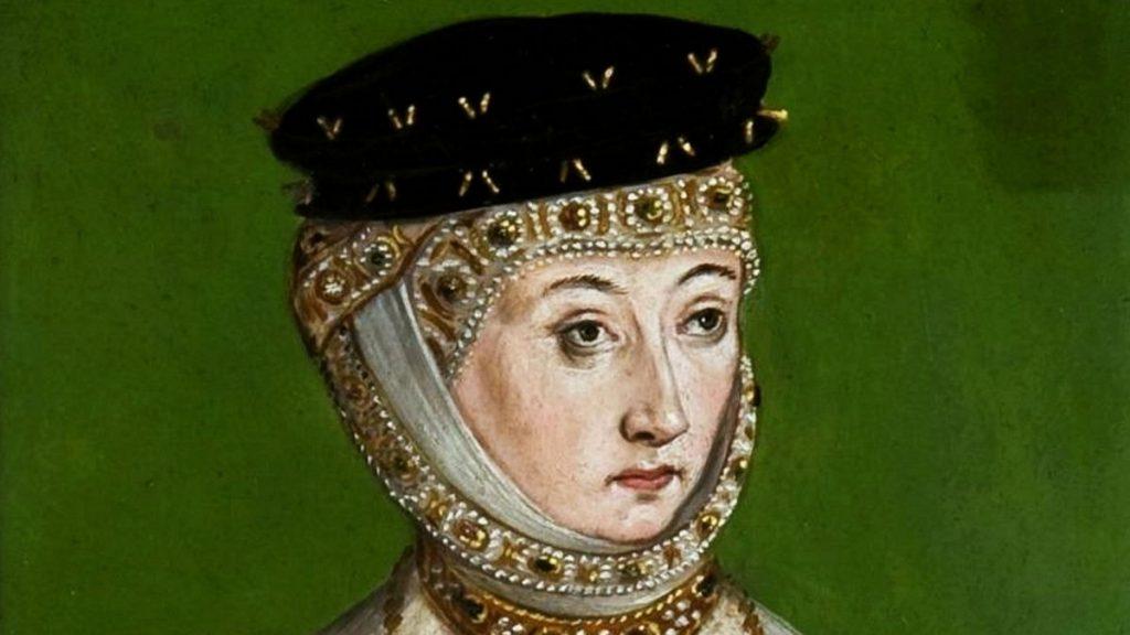 Barbara Radziwiłłówna. Portret Łukasza Cranacha Młodszego