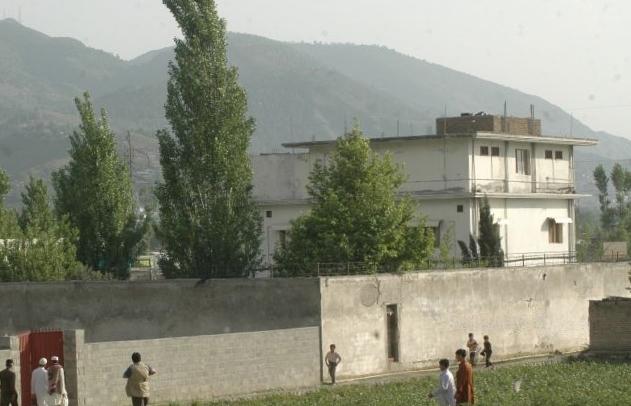 Budynek w którym ukrywał się Osama bin Laden w Pakistanie (Sajjad Ali Qureshi/CC BY-SA 2.0).