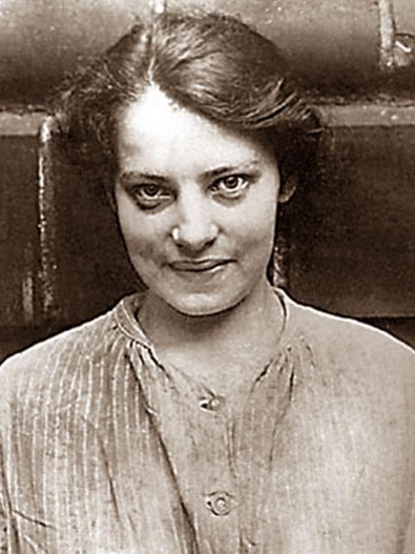 Franciszka na zdjęciu wykonanym w 1920 roku (domena publiczna).