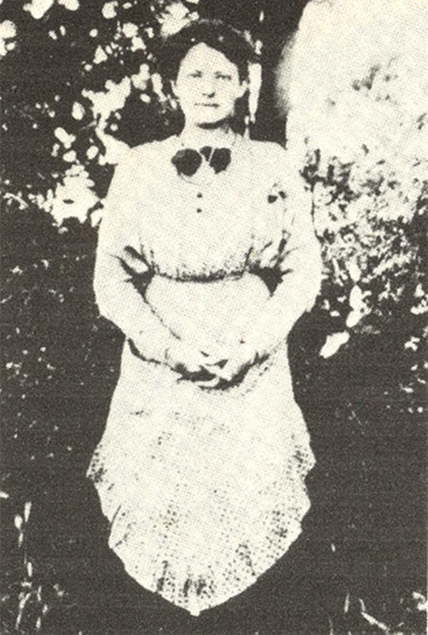 Franciszka na zdjęciu z 1913 roku (domena publiczna).