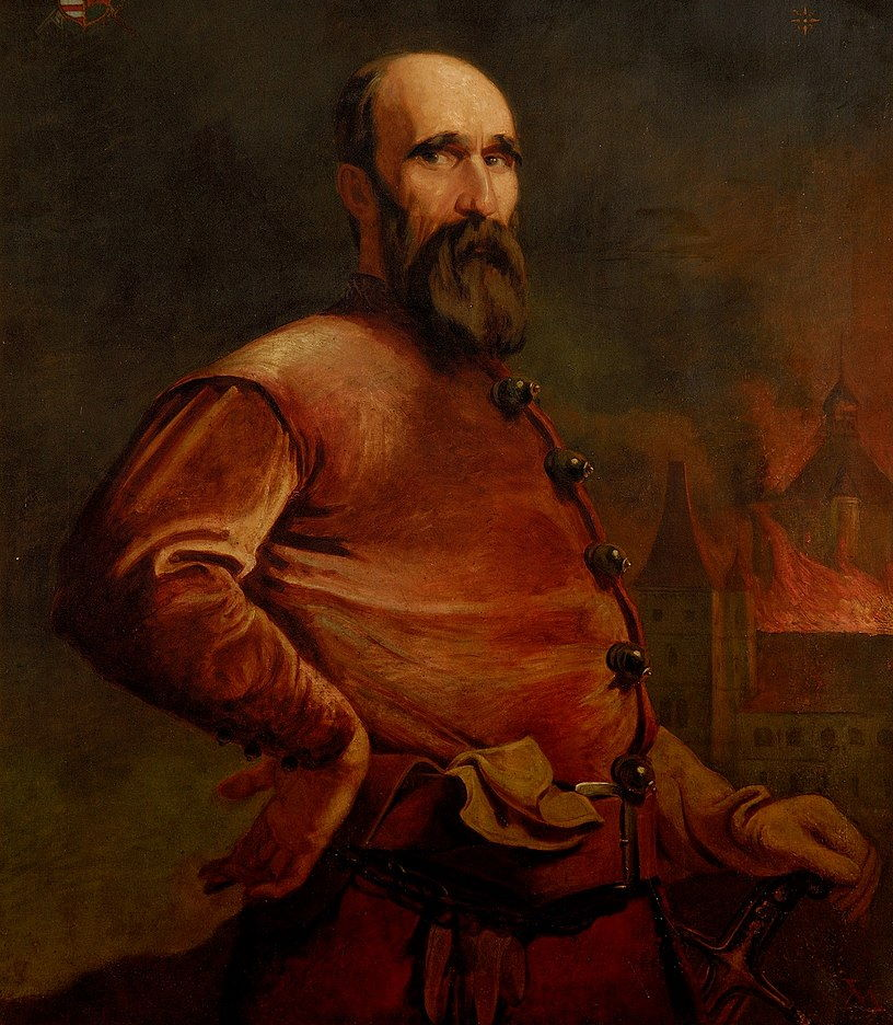 György Dózsa . Portret imaginacyjny z początku XX wieku.