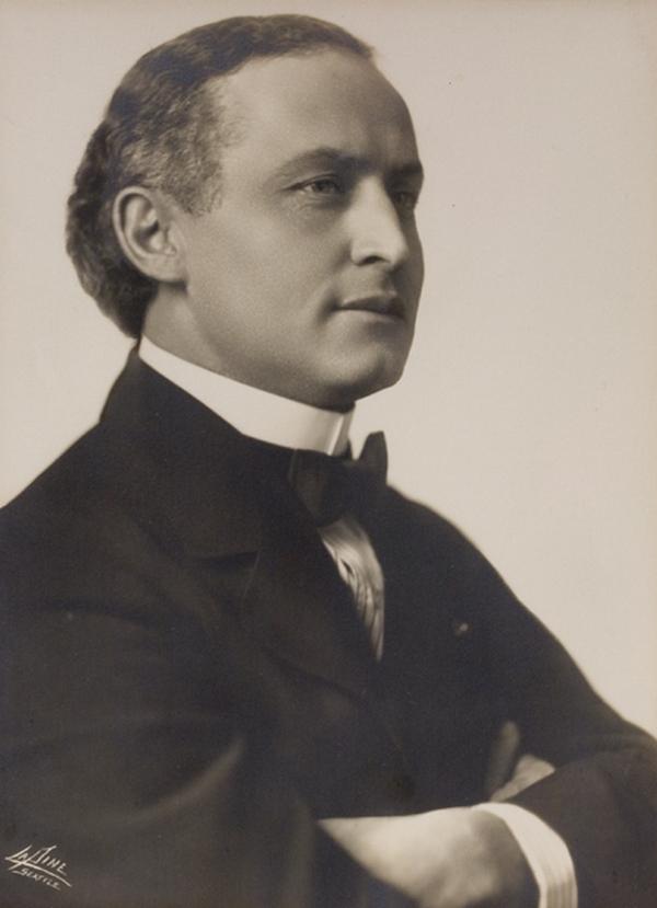 Słynny iluzjonista Harry Houdini nie miał złudzeń co do Ann O'Delii (domena publiczna).