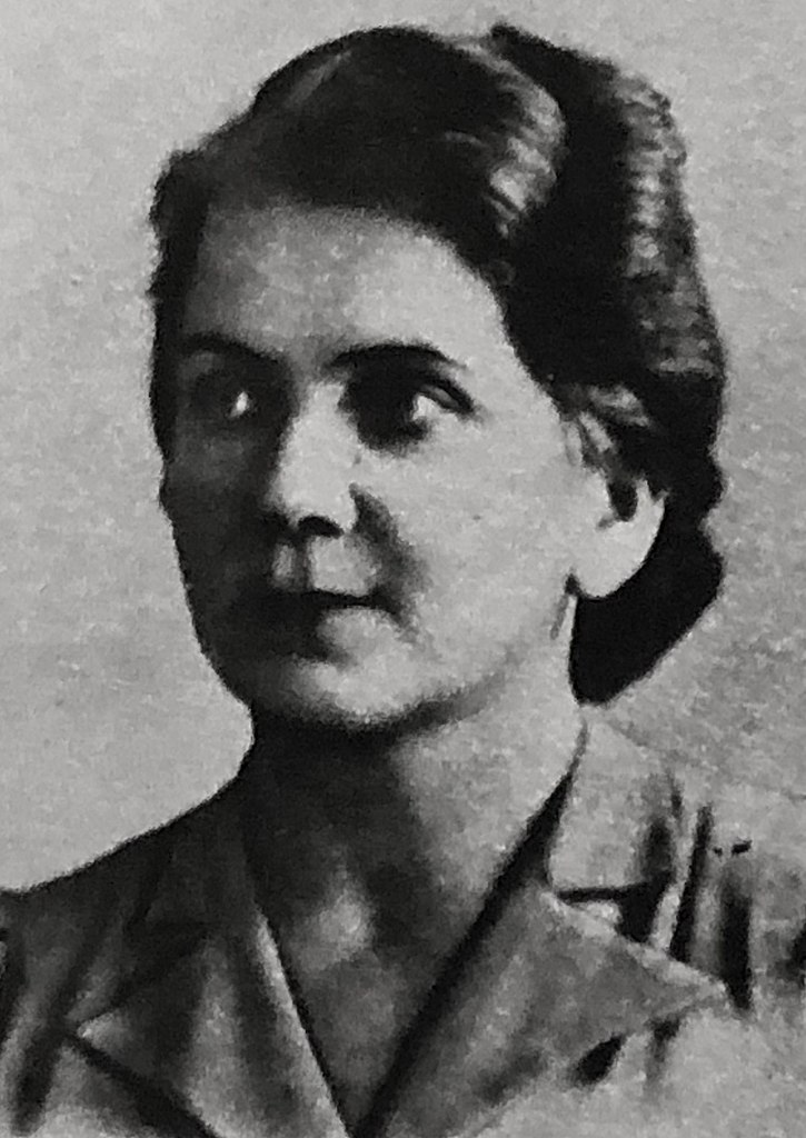 Życiowa partnerka Bieruta Wanda Górska (domena publiczna).