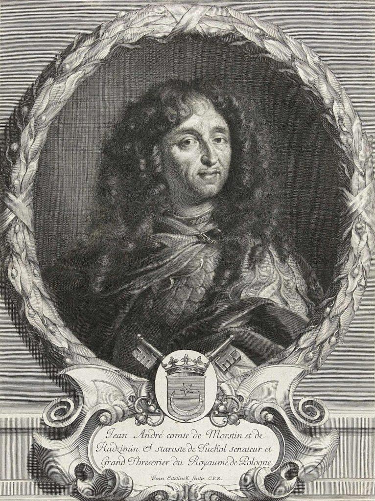 Wśród przekupionych znalazł się Jan Morsztyn (Jan Edelinck/domena publiczna).