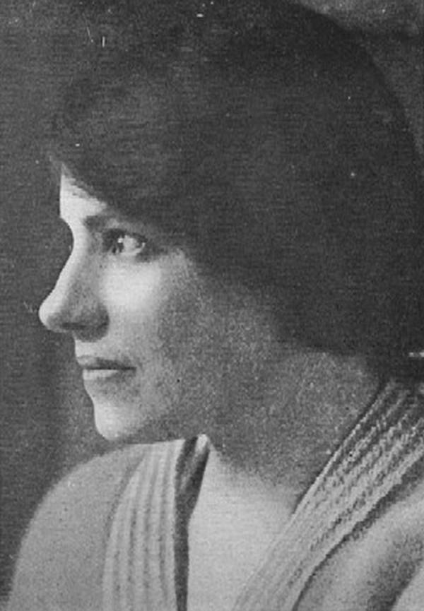 Zdjęcie Franciszki wykonane w 1922 roku, gdy podawała się już za Anastazję (domena publiczna).