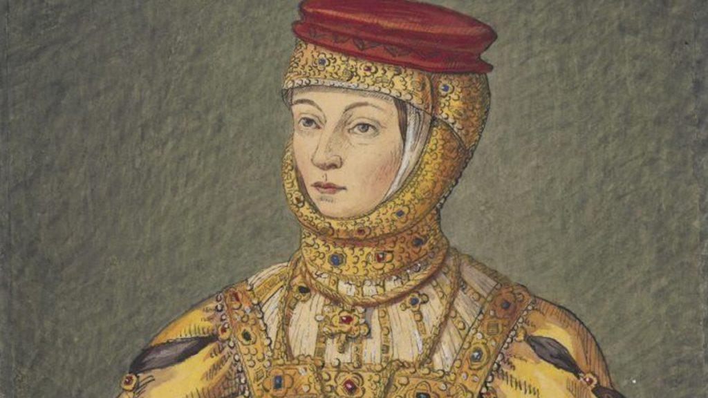 Barbara Radziwiłłówna. XIX-wieczna kopia portretu z epoki