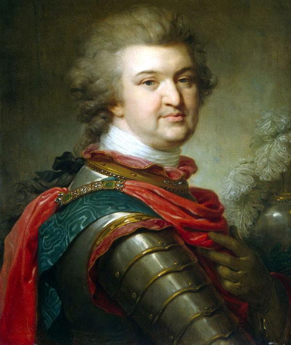 Grigorij Potiomkin na obrazie z ok. 1790 roku.