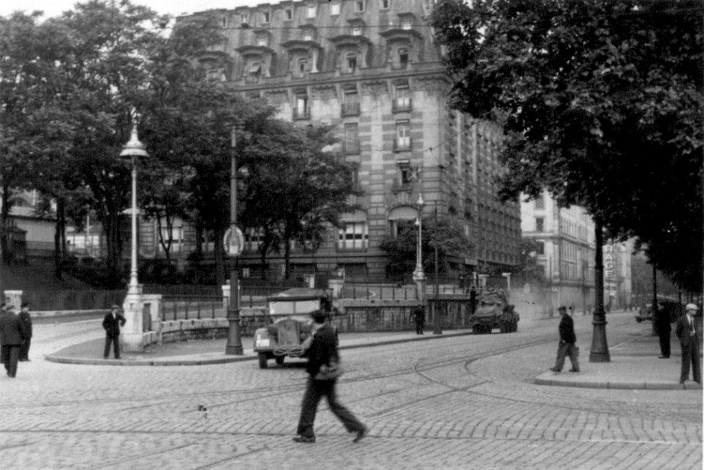 Hôtel Terminus. To w tym budynku podczas okupacji swoją siedzibę miało gestapo w Lyonie (Niko fr/CC BY-SA 4.0).