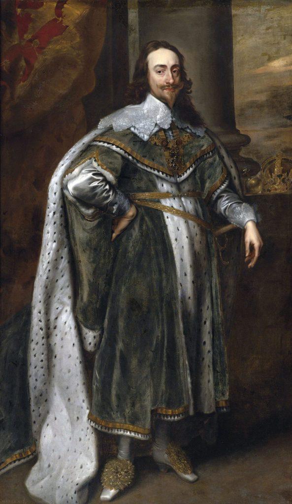 Król Karol I Stuart (Anthony van Dyck/domena publiczna).