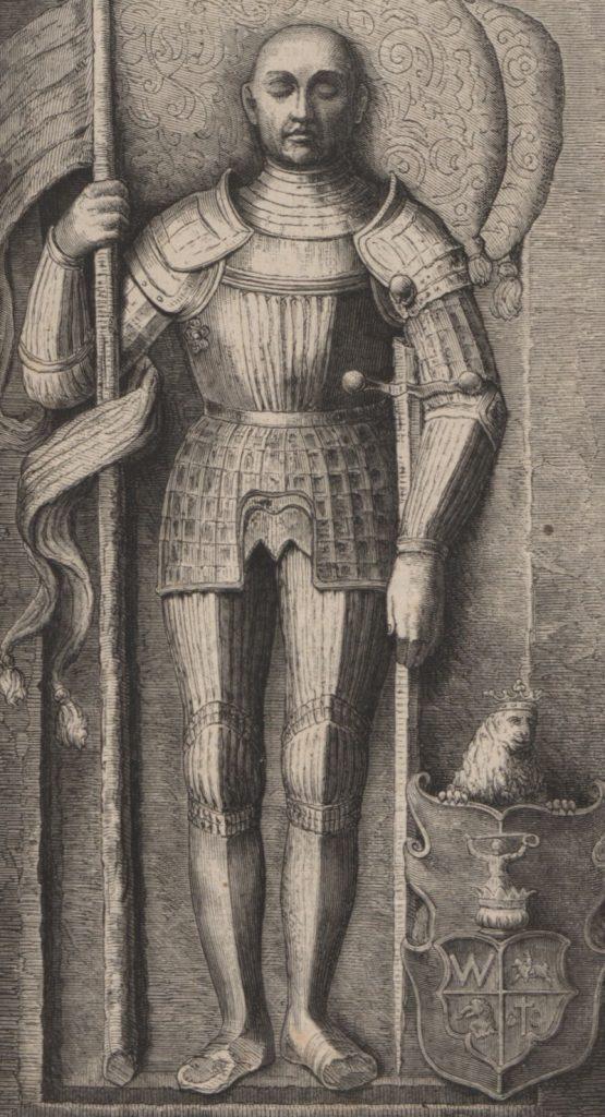 Olbracht Gasztołd. Płaskorzeźba w katedrze wileńskiej