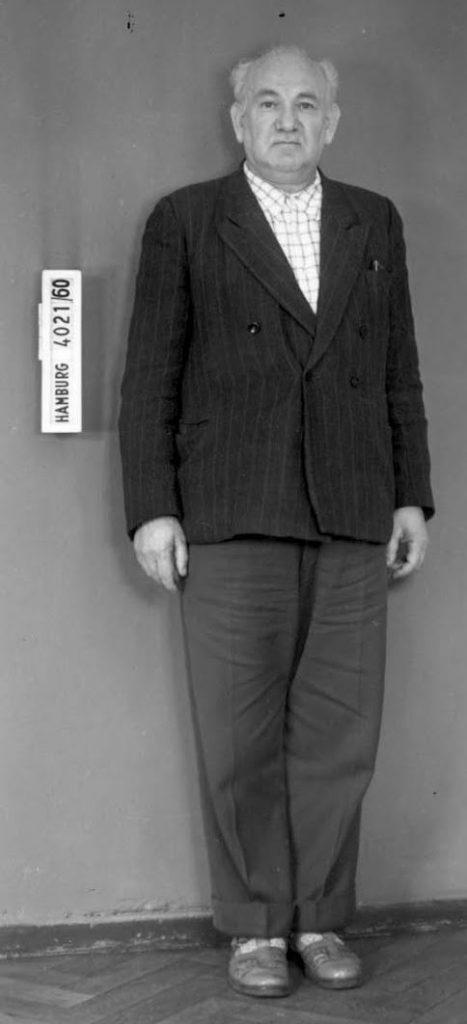 Richard Rokita został aresztowany dopiero w 1960 roku. Ze względu na zły stan zdrowia oskarżonego proces karny został przerwany.